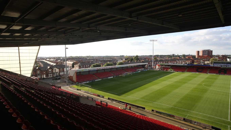 Alexandra Stadium Crewe Room Hire
