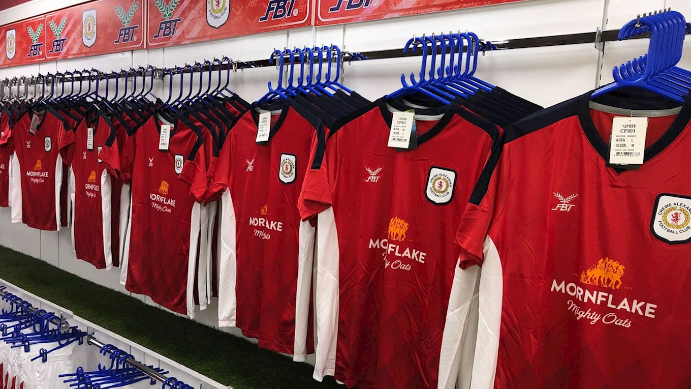 07669cb32 Home Kit On Sale In-Store   Online - News - Crewe Alexandra