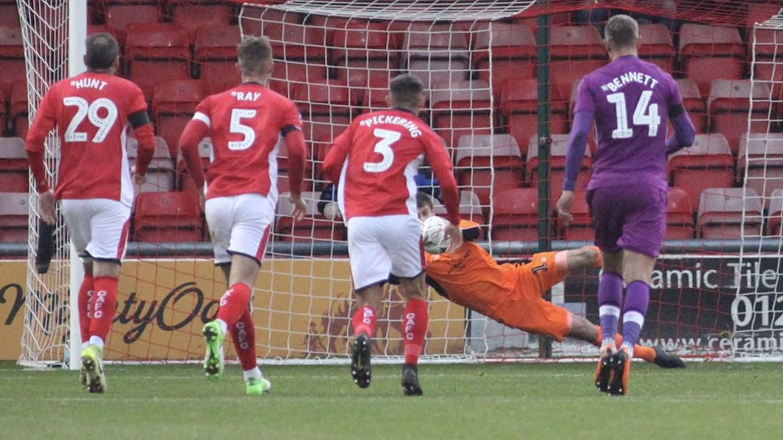 FA Cup Report: Crewe 0-1 Carlisle United - News - Crewe Alexandra